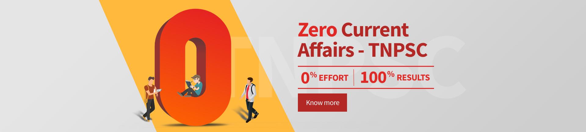 Zero Current Affairs